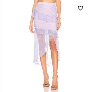 NWT MAJORELLE Lavender Skirt